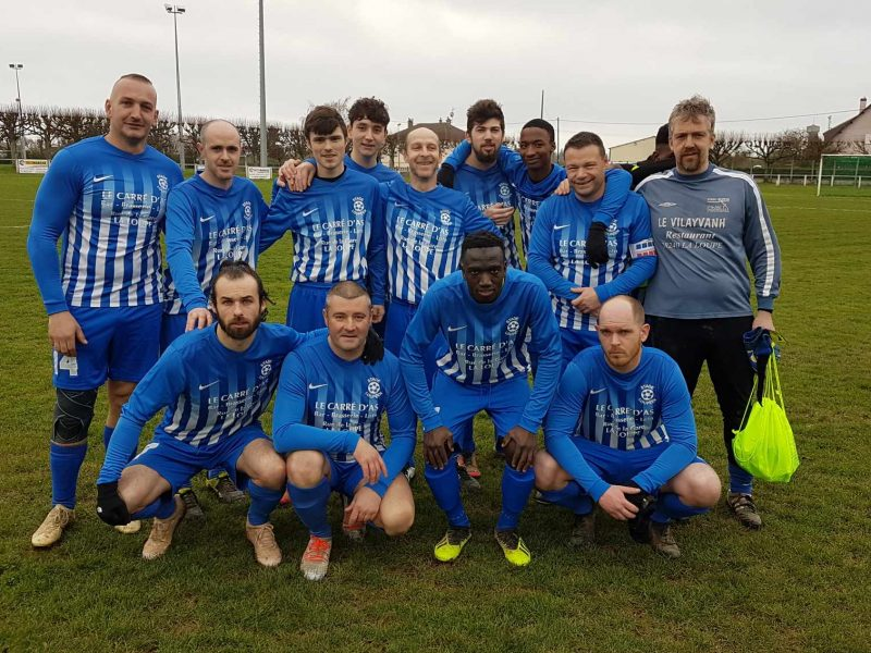 foot la loupe senior B match illiers le 23.02.2020